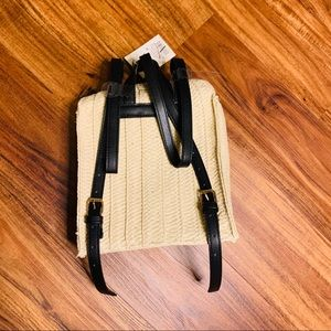 Straw Basket Backpack - A New Day